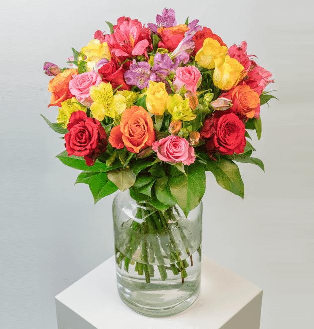 Rosenstrauß Blütenkuss