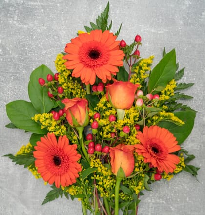 Blumenstrauß Glücksbote