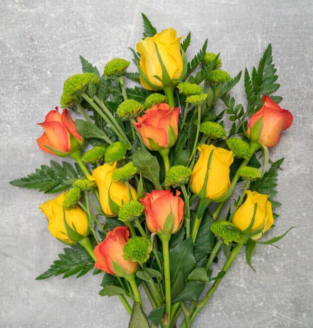 Rosenstrauß Blütenpracht