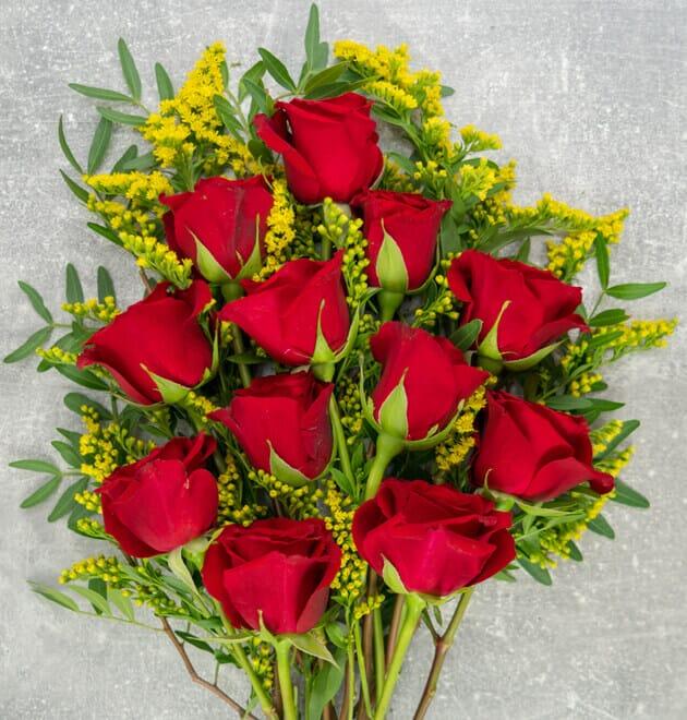 Rosenstrauß Für meinen Schatz