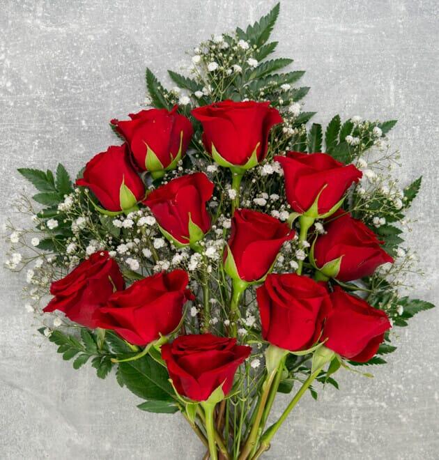 Rosenstrauß Liebesglück