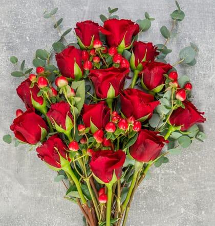 Rosenstrauß Von Herzen
