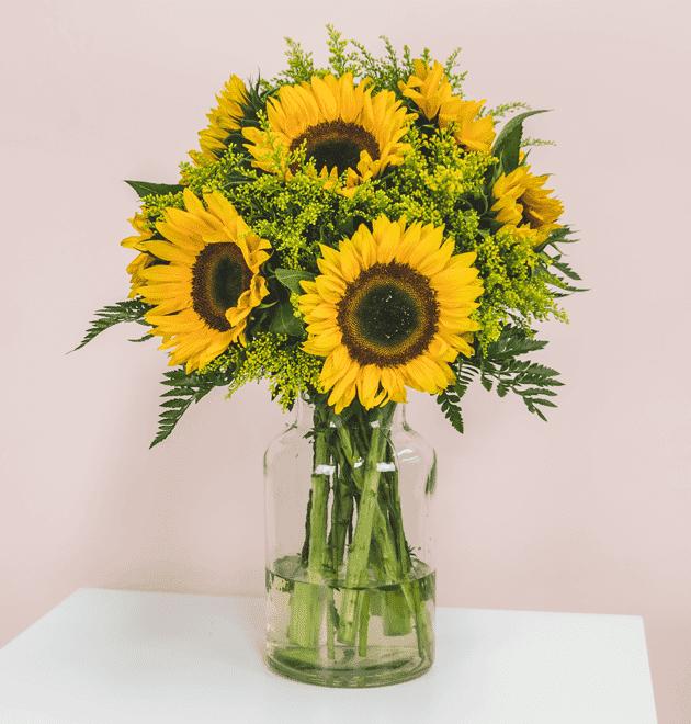 Sonnenblumenstrauß Sommertraum